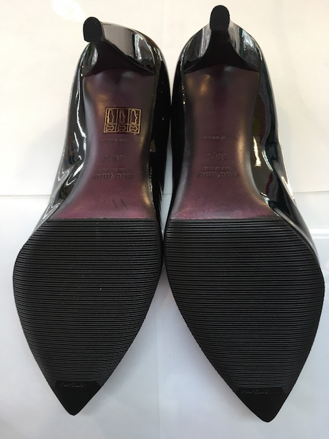 【MIU MIU】靴底補強・ピンヒールリフト交換