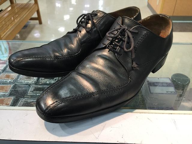 靴底に穴があいた時の修理方法