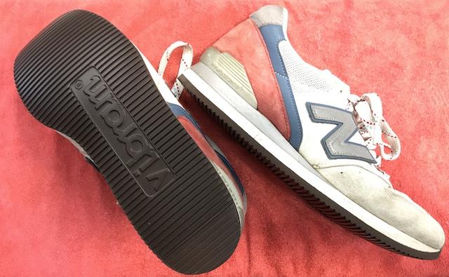 【New Balanceの修理】M996靴底カスタム