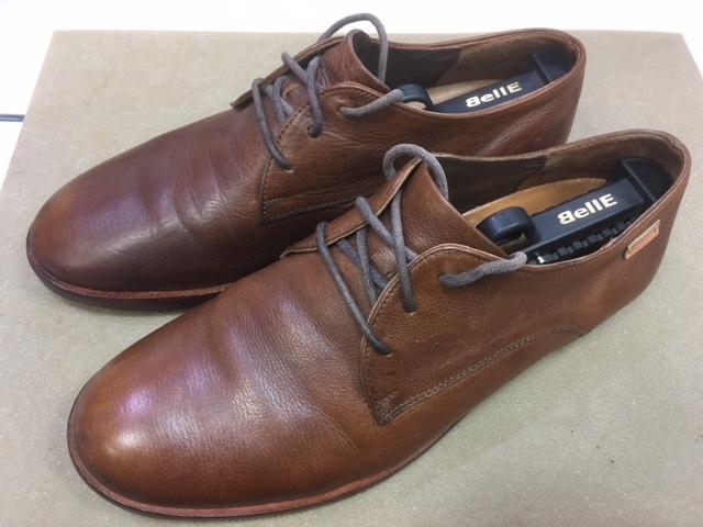 【CAMPER】かかと修理・靴底補強