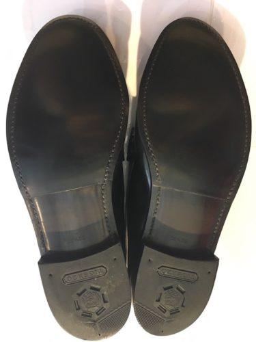 リーガル靴底割れ修理後