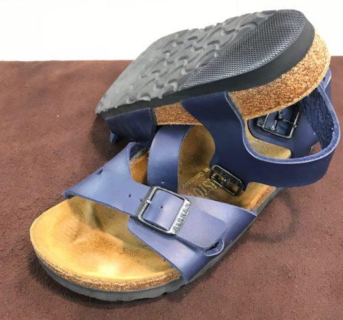 ビルケンシュトック靴底修理後