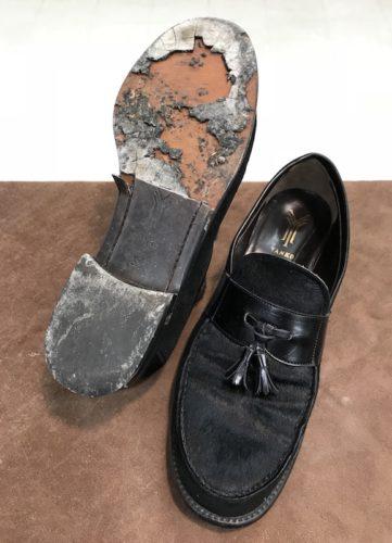 ヤンコ靴底修理前