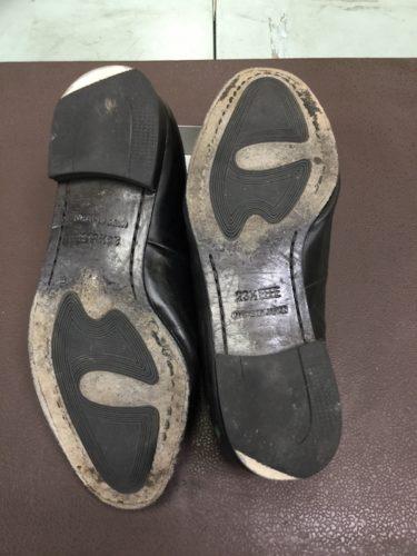 マドラス靴底修理前