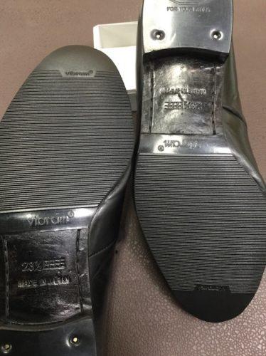 マドラス靴底修理後