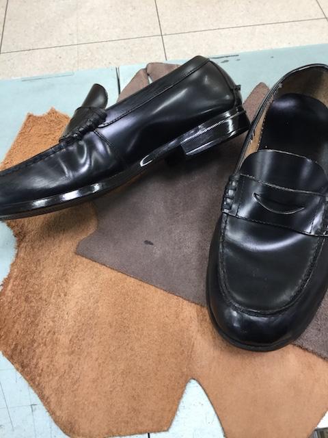 【もう困らない】学生靴ローファーほつれ修理