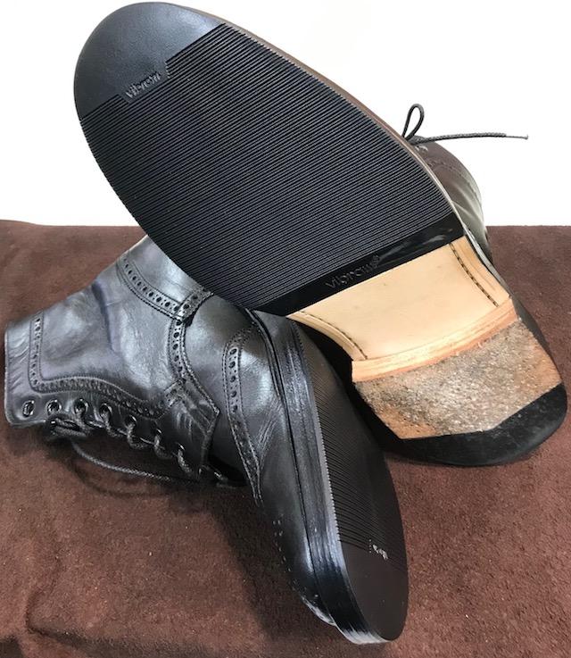 【Tricker's】靴底がすべる時の解決方法