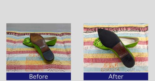 ブルノマリ靴底滑り止め事例