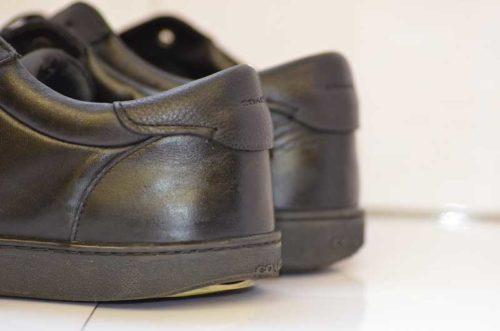 COACH靴底修理前2