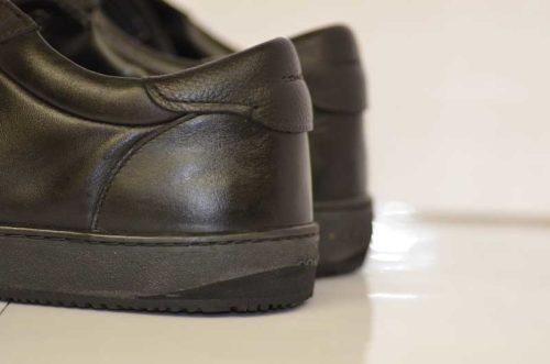 COACH靴底修理後2