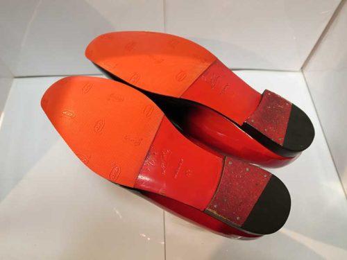 クリスチャン・ルブタン靴底修理後