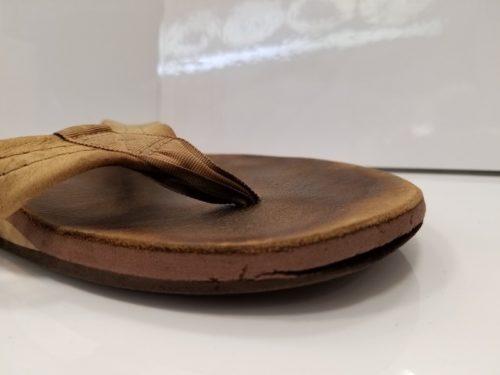 サンダル靴底修理前2