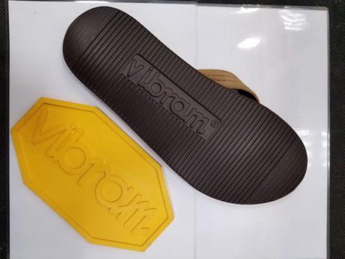 サンダル靴底修理後2