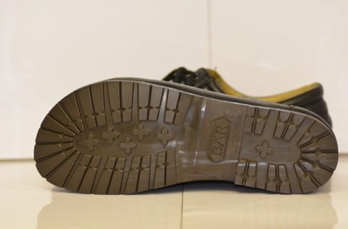 BAR靴底とカカト修理後1