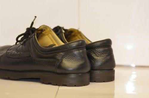 BAR靴底とカカト修理後2