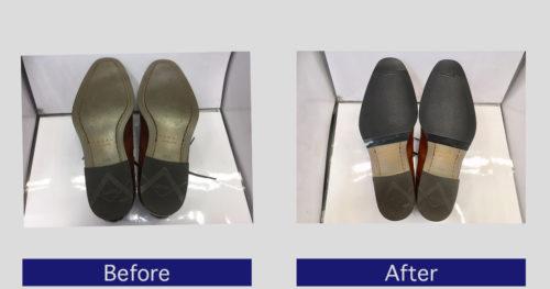 REGAL靴底補強・滑り止め修理