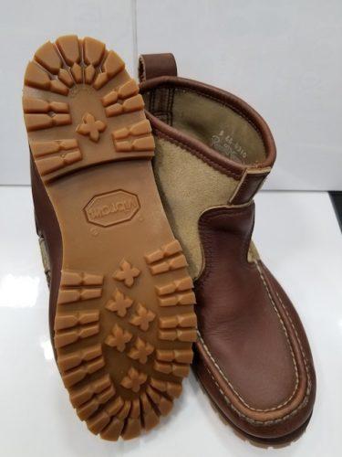 ラッセルモカシン靴底修理後1