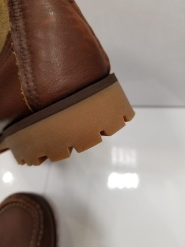 ラッセルモカシン靴底修理後2