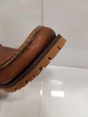ラッセルモカシン靴底修理後3