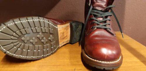 RED WINGベックマン靴底修理後