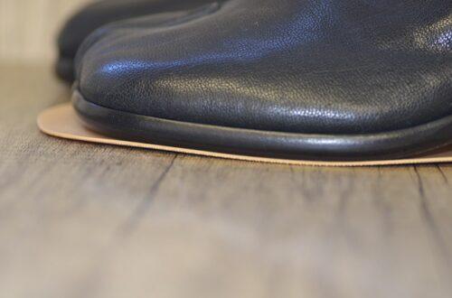 メゾン マルジェラ靴底修理に使うラバーソール